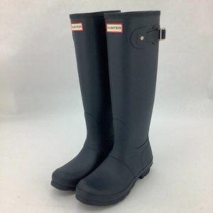 Hunter | Women's Rain Boots | Tall | Matte | Navy